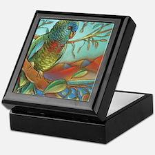 St Lucia Parrot Keepsake Box