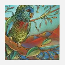 St Lucia Parrot Tile Coaster