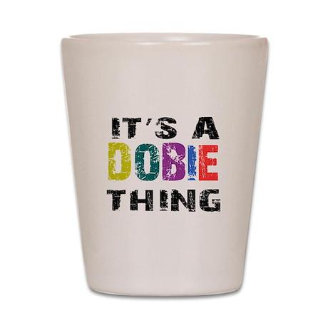 Dobie THING Shot Glass