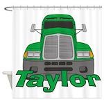Trucker Taylor Shower Curtain