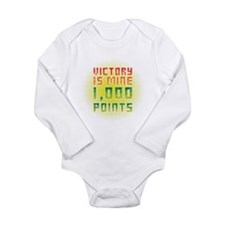 Victory is mine Long Sleeve Infant Bodysuit
