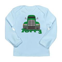 Trucker Terry Long Sleeve Infant T-Shirt