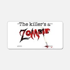 The killers a zombie Aluminum License Plate