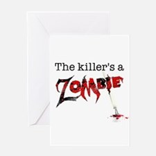 The killers a zombie Greeting Card
