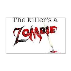 The killers a zombie 22x14 Wall Peel