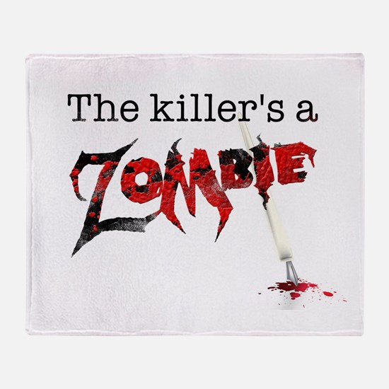 The killers a zombie Throw Blanket