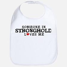 Stronghold: Loves Me Bib