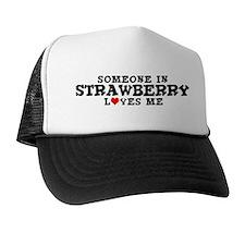 Strawberry: Loves Me Trucker Hat