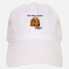 Old Time Radio Guy Baseball Baseball Cap