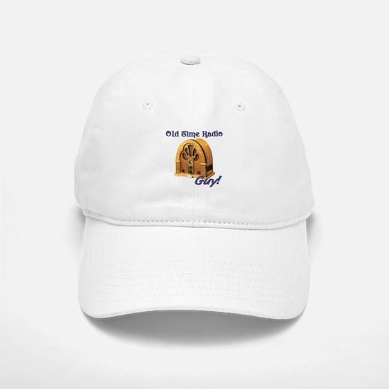 Old Time Radio Guy Baseball Baseball Cap