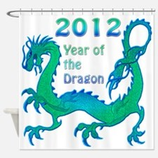 2012 Year of the Dragon Shower Curtain