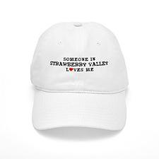 Strawberry Valley: Loves Me Baseball Cap