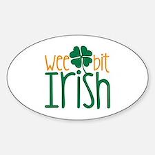 Wee Bit Irish Decal
