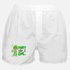 Licensed Fight Like a Girl 42.8 NH Ly Boxer Shorts