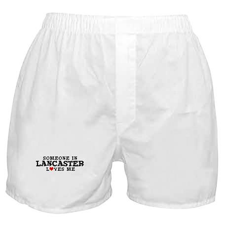 Lancaster: Loves Me Boxer Shorts