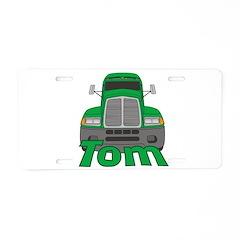 Trucker Tom Aluminum License Plate