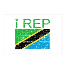 I Rep Tanzania Postcards (Package of 8)