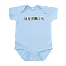 Air Force Camo Infant Bodysuit