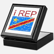 I Rep Democratic Republican Keepsake Box