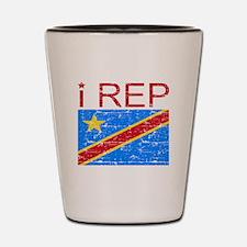I Rep Democratic Republican Shot Glass