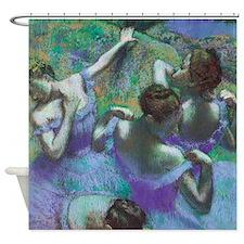 Edgar Degas Blue Dancers Shower Curtain