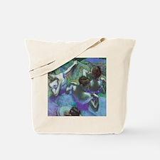 Edgar Degas Blue Dancers Tote Bag