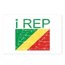 I Rep Republic of the Congo Postcards (Package of