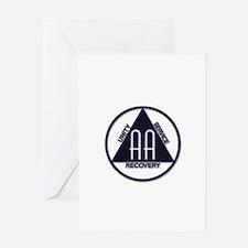 A.A. Logo Classics - Greeting Card