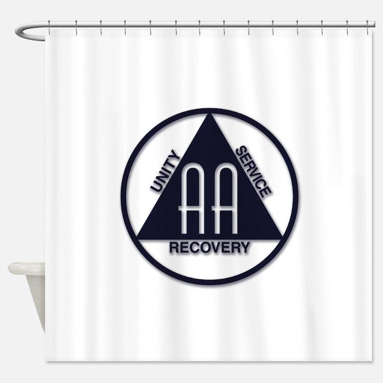 A.A. Logo Classics - Shower Curtain