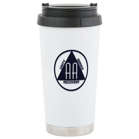 A.A. Logo Classics - Stainless Steel Travel Mug