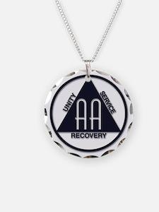 A.A. Logo Classics - Necklace Circle Charm