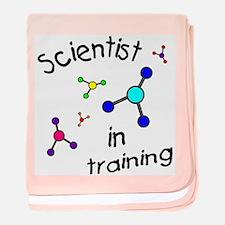 Scientist in Training baby blanket