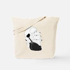 Skull Pirate Ship.png Tote Bag