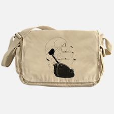 Skull Pirate Ship.png Messenger Bag