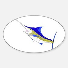 Marlin.png Sticker (Oval)