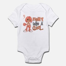Licensed Fight Like a Girl 42.8 En Infant Bodysuit