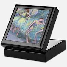 Edgar Degas Dancers In The Wings Keepsake Box