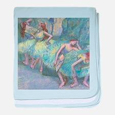 Edgar Degas Dancers In The Wings baby blanket