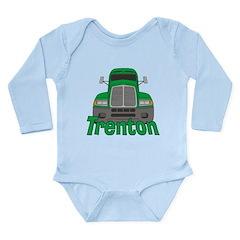 Trucker Trenton Long Sleeve Infant Bodysuit