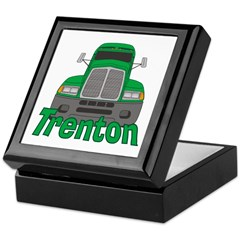 Trucker Trenton Keepsake Box