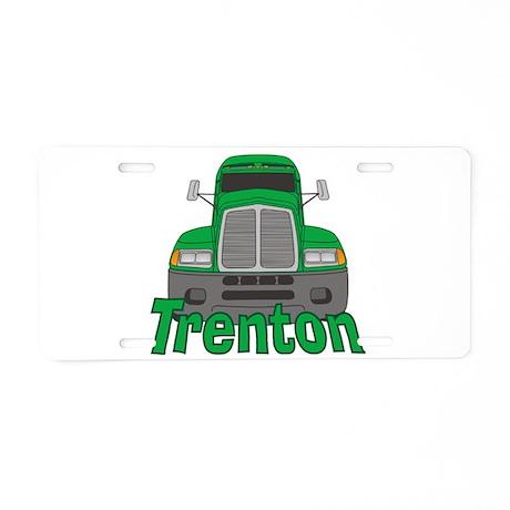 Trucker Trenton Aluminum License Plate
