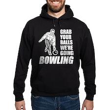 Grab Your Balls Bowling Hoodie (dark)