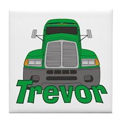 Trucker Trevor Tile Coaster