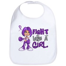 Fight Like a Girl 42.8 Crohn's Disease Bib