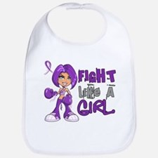 Licensed Fight Like a Girl 42.8 Crohn's Bib