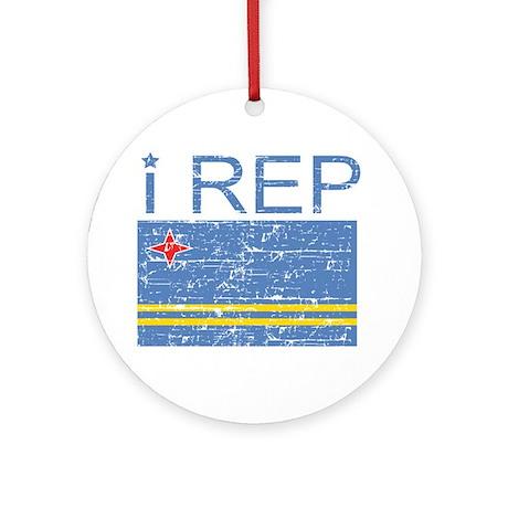 I Rep Aruba Ornament (Round)