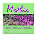 Moher: I Thank You Tile Coaster