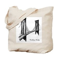 Brooklyn Bridge (Sketch) Tote Bag