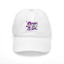 Licensed Fight Like a Girl 42.8 Chiari Baseball Cap
