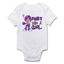 Licensed Fight Like a Girl 42.8 Ch Infant Bodysuit